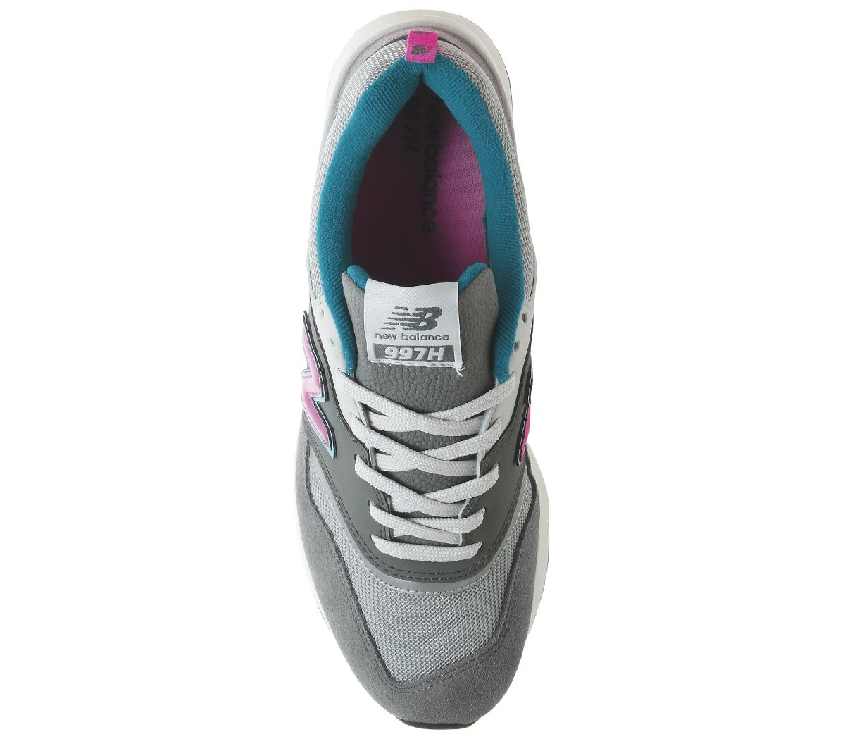 New-Balance-997-Trainers-Castlerock-Peony-Trainers-Shoes thumbnail 10