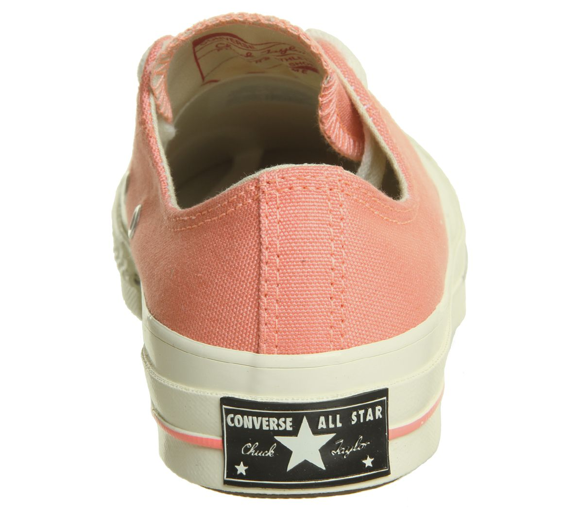 d697310e6132 Converse All Star Ox 70 S Orange Trainers Shoes
