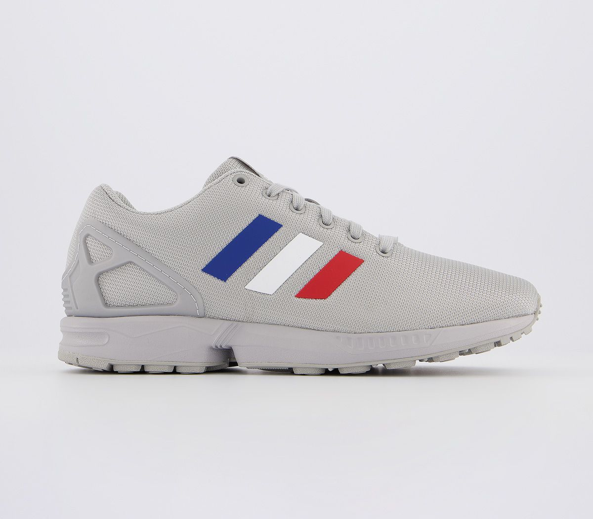 Adidas Zx Flux Trainers Grey White