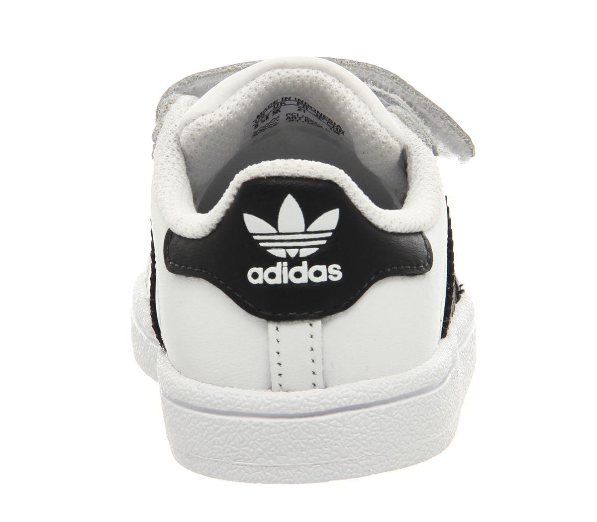 Infantil Adidas Superstar Infantil 2 9 Blanco Negro Blancos