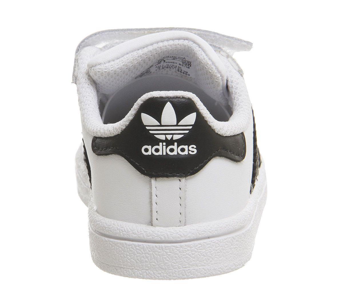 huge discount be3c4 a5ed3 Kids-Bambino-ADIDAS-SUPERSTAR-2-9-Scarpe-da-