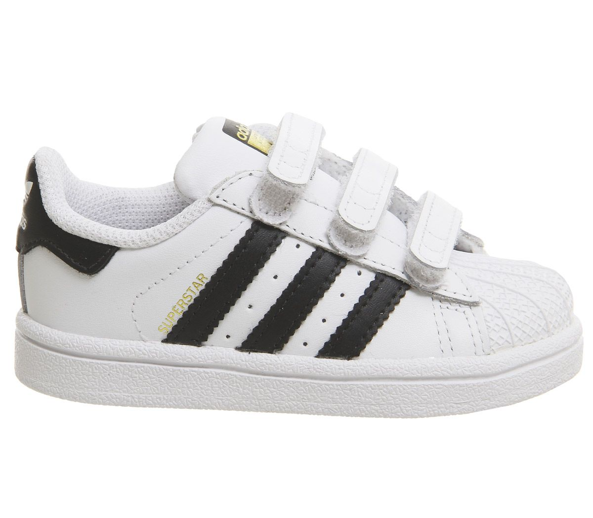 size 40 cf3ba 70265 Sentinel Kids Adidas Superstar Infant 2-9 Trainers White Core Black White  Kids