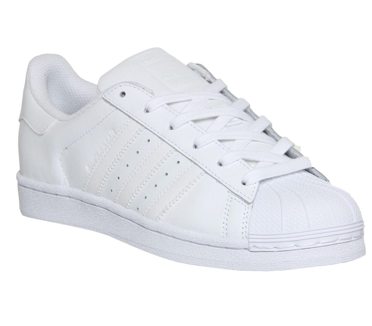 0a1fe6d43a38 Detalles de Zapatillas para mujer adidas Superstar blanco mono Fundación  Zapatillas Zapatos- ver título original