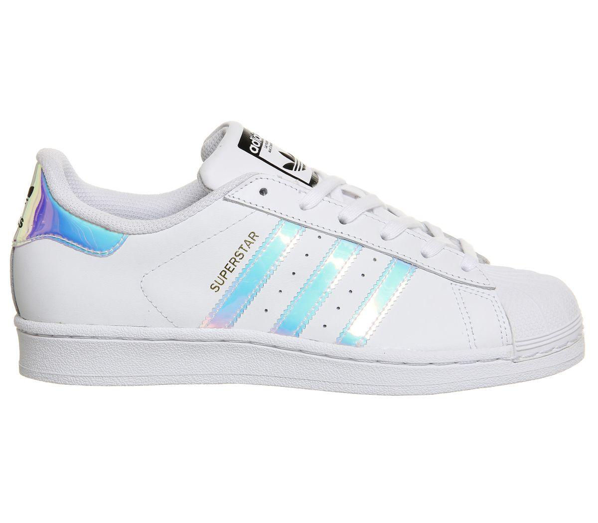 d831c5b4063a Donna-Adidas-Superstar-Bianco-Argento-Metallizzato miniatura 4