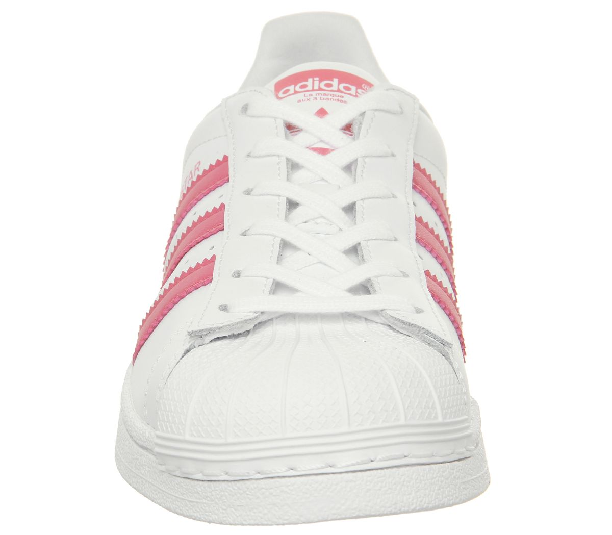 d92c556dbd18 SENTINELLE Womens Adidas Superstar Gs formateurs blanc chaussures  formateurs rose clair