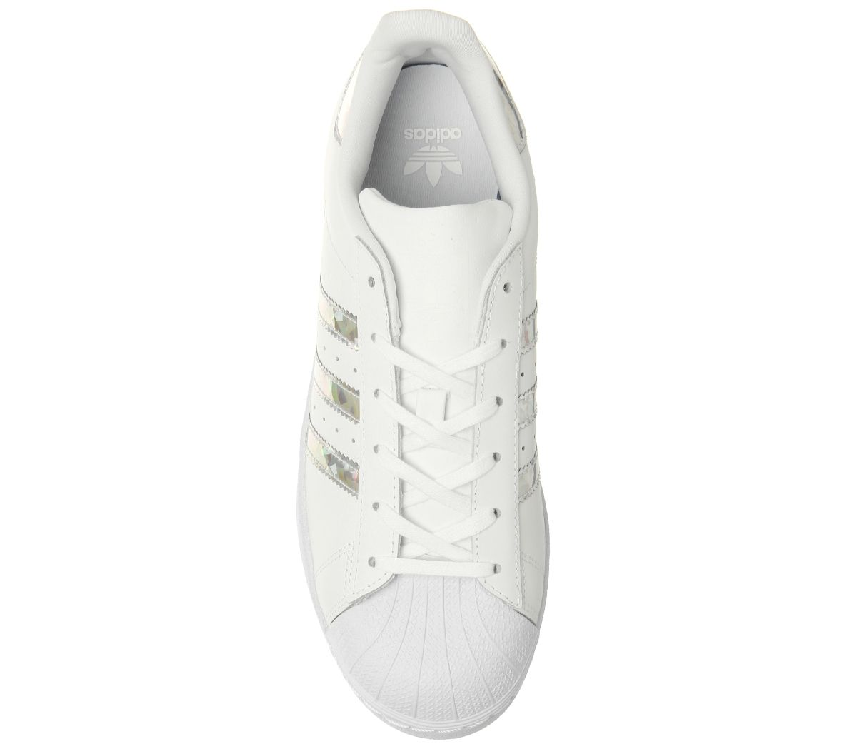 more photos a6065 7a9c4 Donna-Adidas-Superstar-Gs-Scarpe-da-Ginnastica-Bianco-