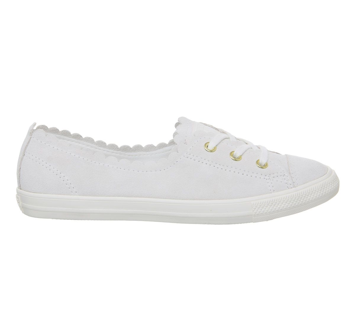 11f97d2b7d2e Sentinel Womens Converse Ctas Ballet Lace Trainers Off White Frill Trainers  Shoes. Sentinel Thumbnail 5