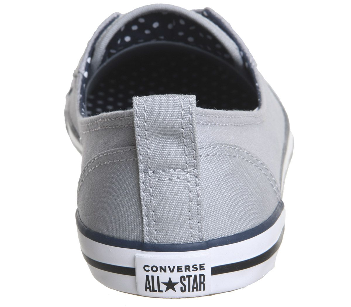 06c0ccf16904 Womens Converse Ctas Ballet Lace Wolf Grey Navy White Trainers Shoes ...