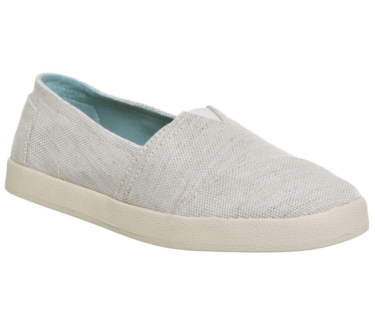 Womens-Toms-Avalon-Sneakers-Natural-Yarn-Dye-Flats thumbnail 4
