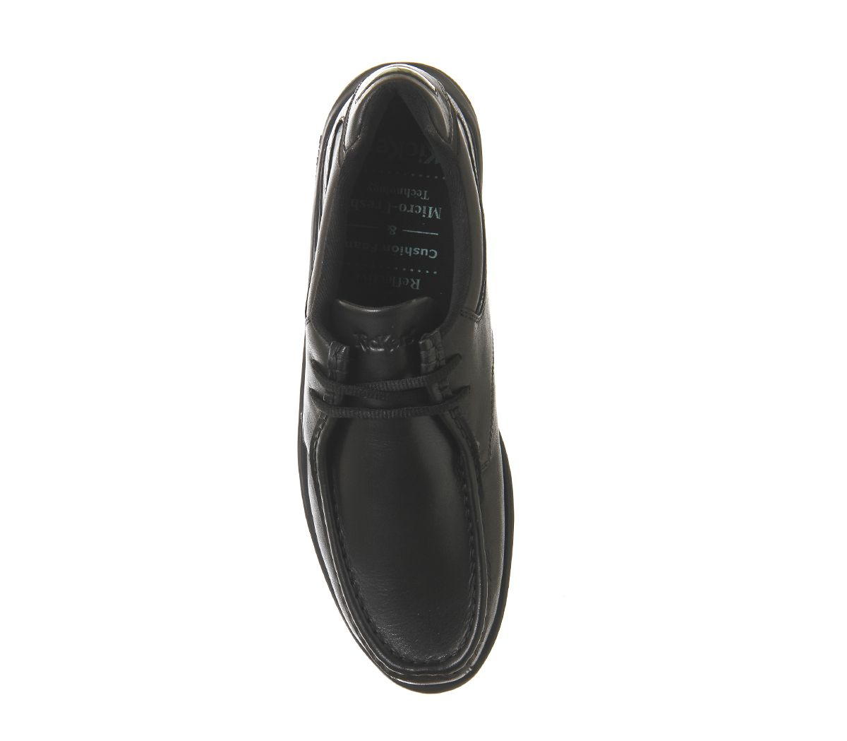 e160aa5d03 Mens Kickers Reason Lace Shoes Black Leather Formal Shoes | eBay
