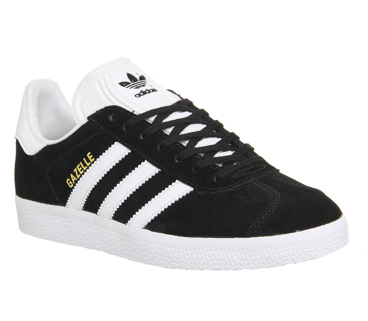 the best attitude 0bbe8 15fef Sentinel Thumbnail 2. Sentinel Adidas Gazelle Core Black White Trainers  Shoes