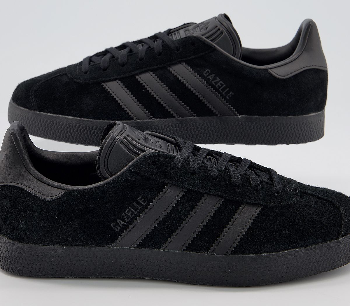 best service 97608 f4f97 Sentinel Mens Adidas Gazelle Trainers Core Black Core Black Trainers Shoes