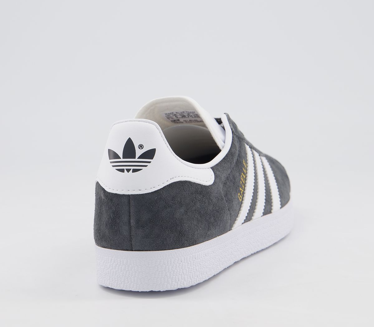 adidas Gazelle Damen Schuhe Dgh Solid Grey White Gold Met