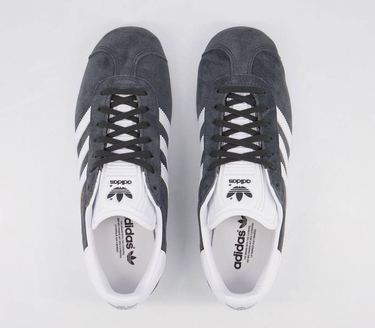 Détails sur Adidas Gazelle Dgh Solid Gris or Blanc rencontré Baskets Chaussures afficher le titre d'origine