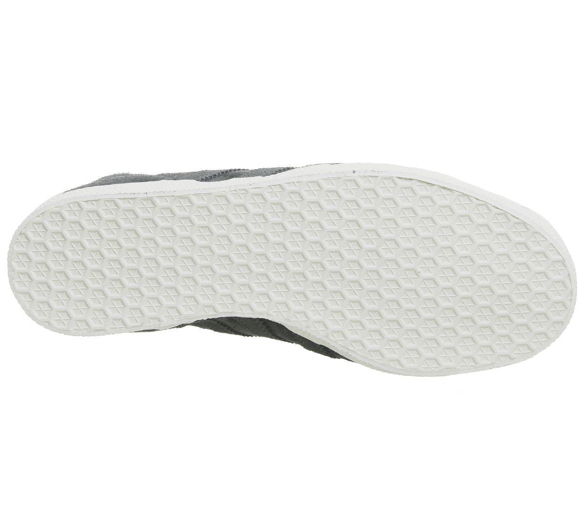 best service 0d2c1 c9041 Mens-Adidas-Gazelle-Trainers-Night-Grey-Carbon-Silver-