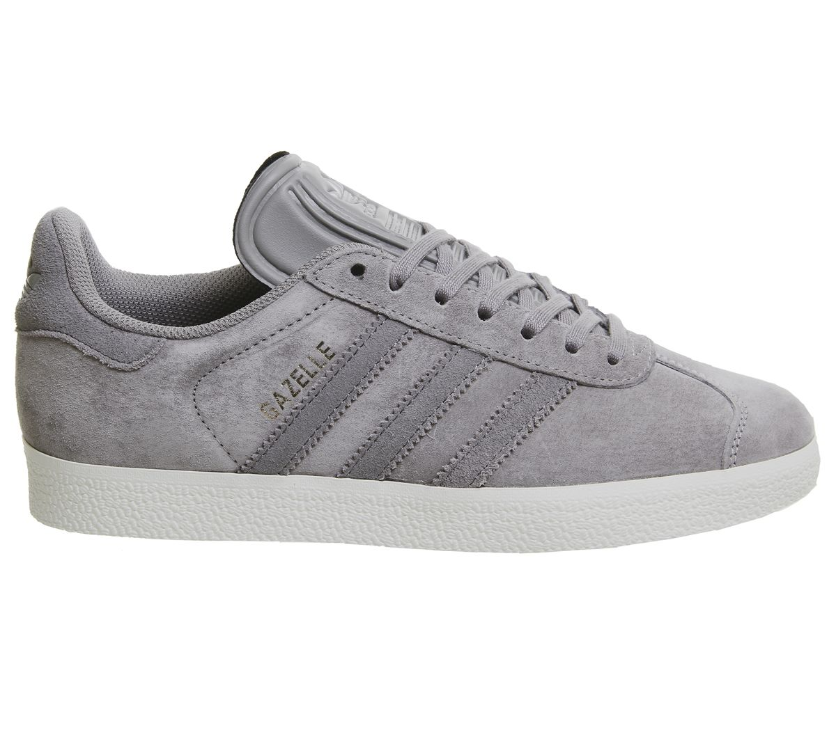 7612c6e7b6070 Sentinel Mens Adidas Gazelle Trainers Solid Grey Four Silver Exclusive  Trainers Shoes