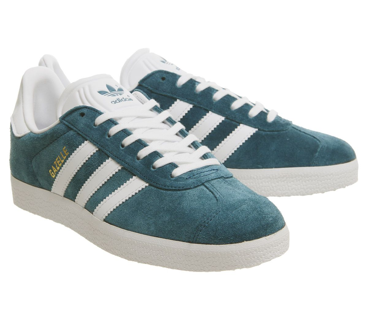 save off 264e4 bf5dc Mens-Adidas-Gazelle-Trainers-Petrol-Night-Trainers-Shoes thumbnail