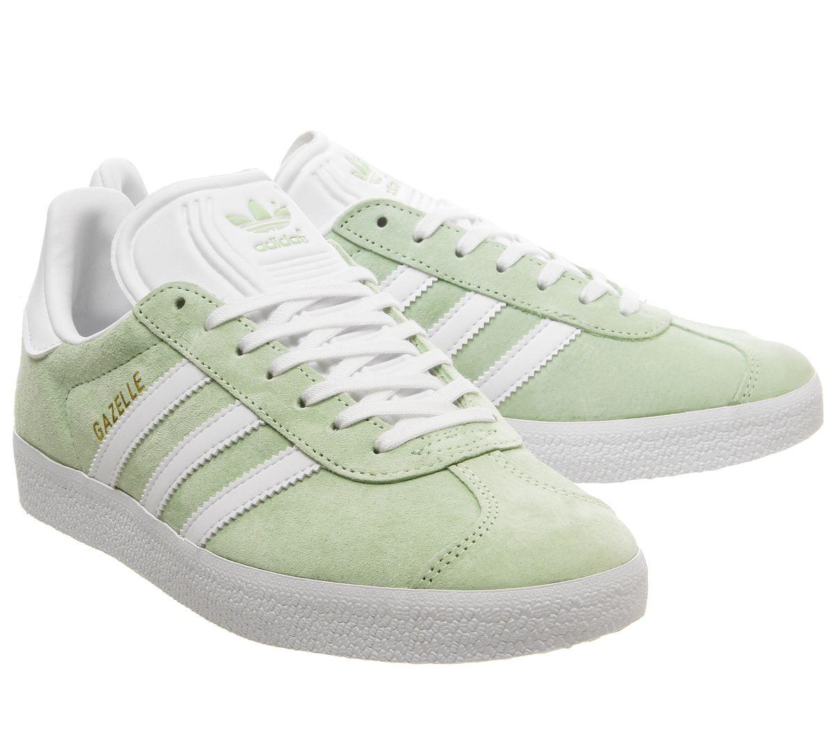 zapatillas adidas gacelle verdes mujer