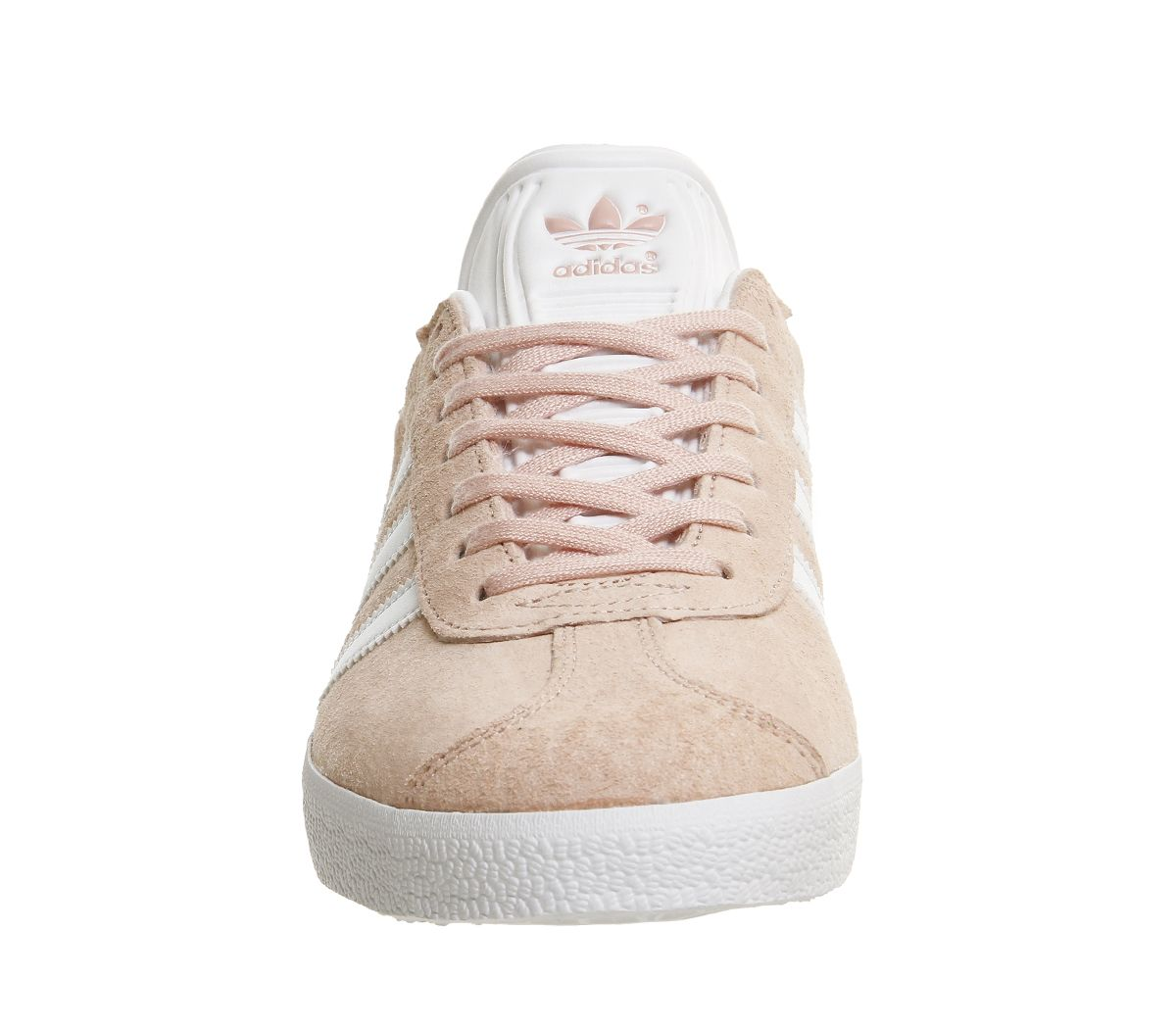 Adidas-Gazelle-Vapour-Pink-White-Trainers-Shoes thumbnail 6