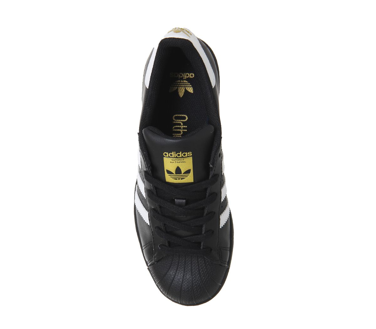 dea49bbfc92 Adidas-Superstar-1-Negro-Blanco-Foundation-Zapatillas-Zapatos miniatura