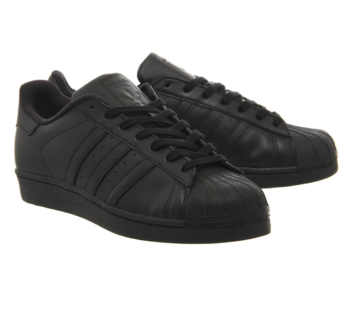 adidas superstar 1 white black foundation