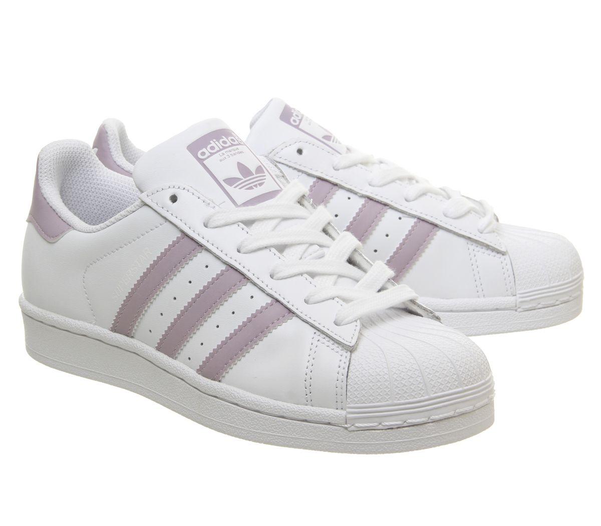 new arrival 9e669 7a8d9 SENTINEL Donna Adidas Superstar 1 formatori visione morbida nera scarpe da  ginnastica scarpe bianco