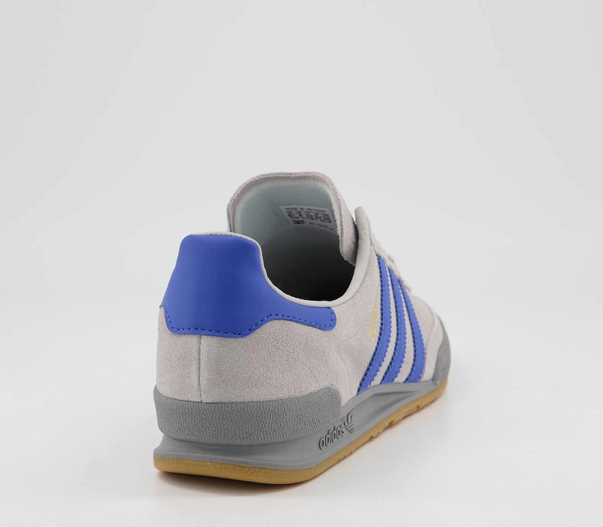 Details zu Adidas Jeans Trainers Grey Blue Trainers Shoes