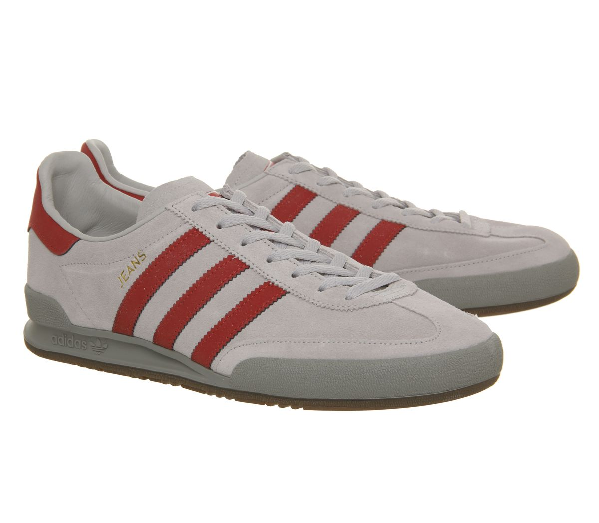 142bf02f65319a Sentinel Adidas Jeans Trainers Grey Two Scarlet Solid Grey Trainers Shoes