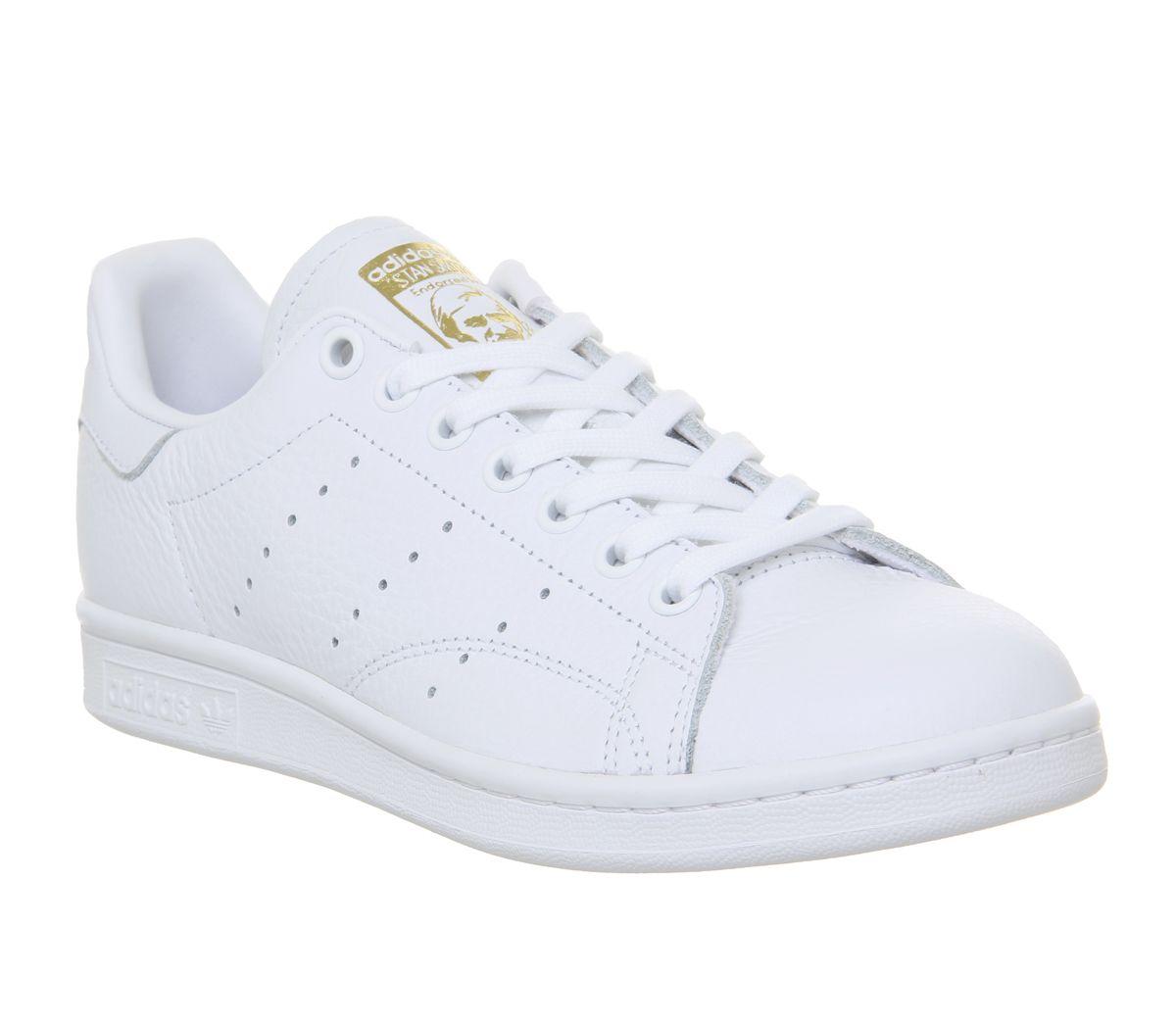 site réputé e83df b318f Détails sur Short Femme Adidas Stan Smith Baskets Blanc Véritable Lilas or  Brut F Baskets Chaussures- afficher le titre d'origine