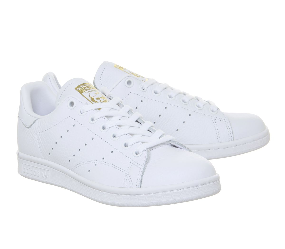 adidas stan smith bianche oro