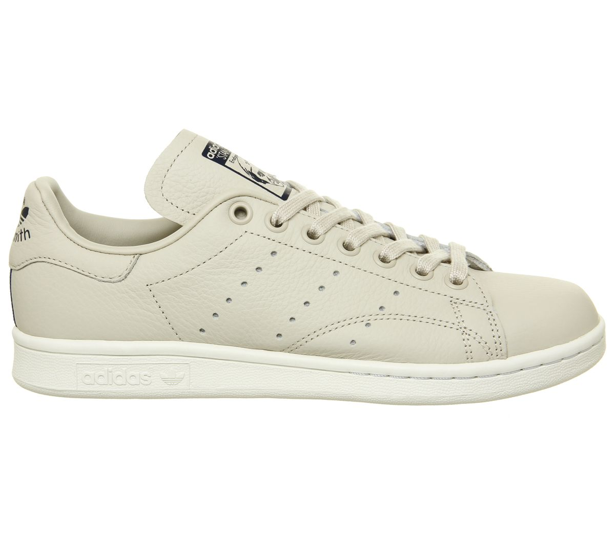 newest 79204 bae6a SENTINELLE Mens Adidas Stan Smith formateurs clairement brun formateurs  blanc chaussures