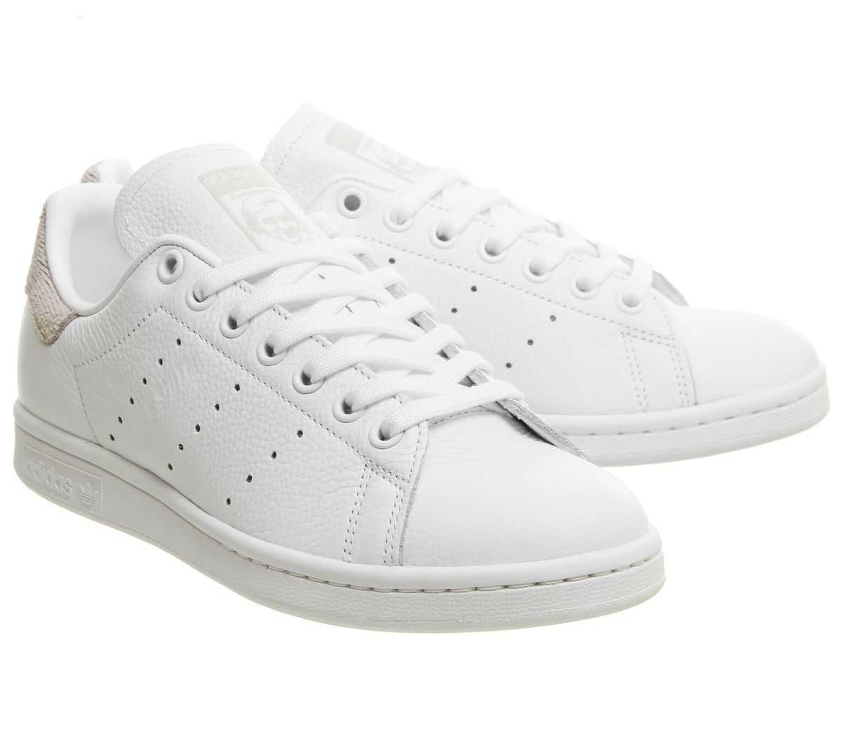 Short-Femme-Adidas-Stan-Smith-Baskets-White-Orchid-Tint-Baskets-Chaussures miniature 8