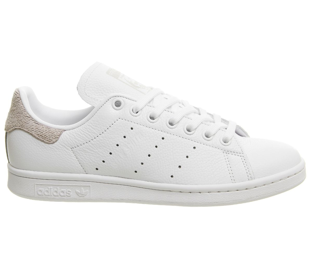 Détails sur Femmes adidas Stan Smith Baskets Blanc Orchidée Tinte Baskets