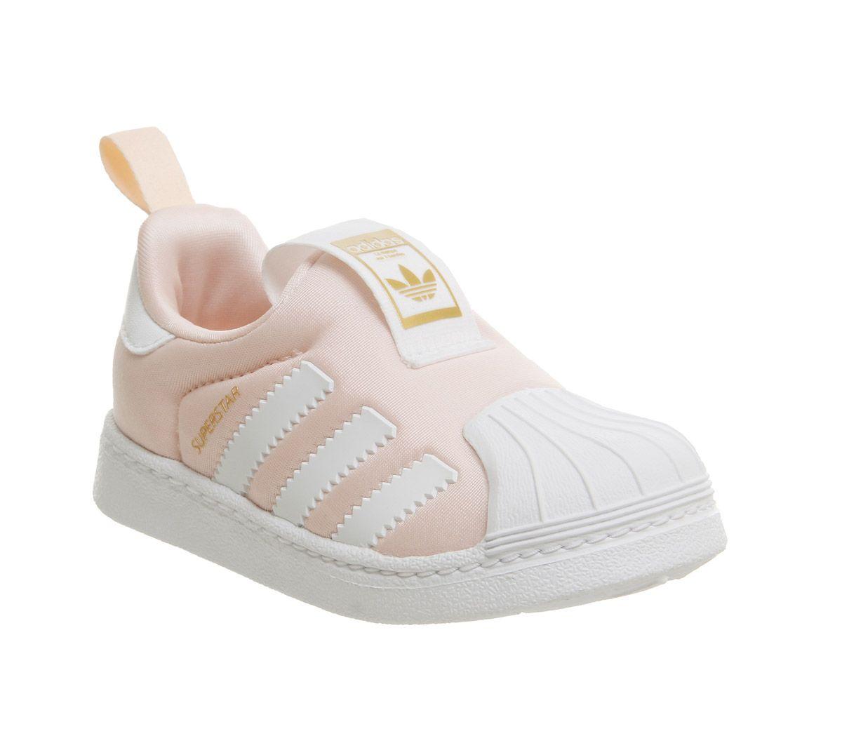 Details zu Kinder adidas Superstar 360 Kinder 3 9 Turnschuhe Klar Orange Kinder