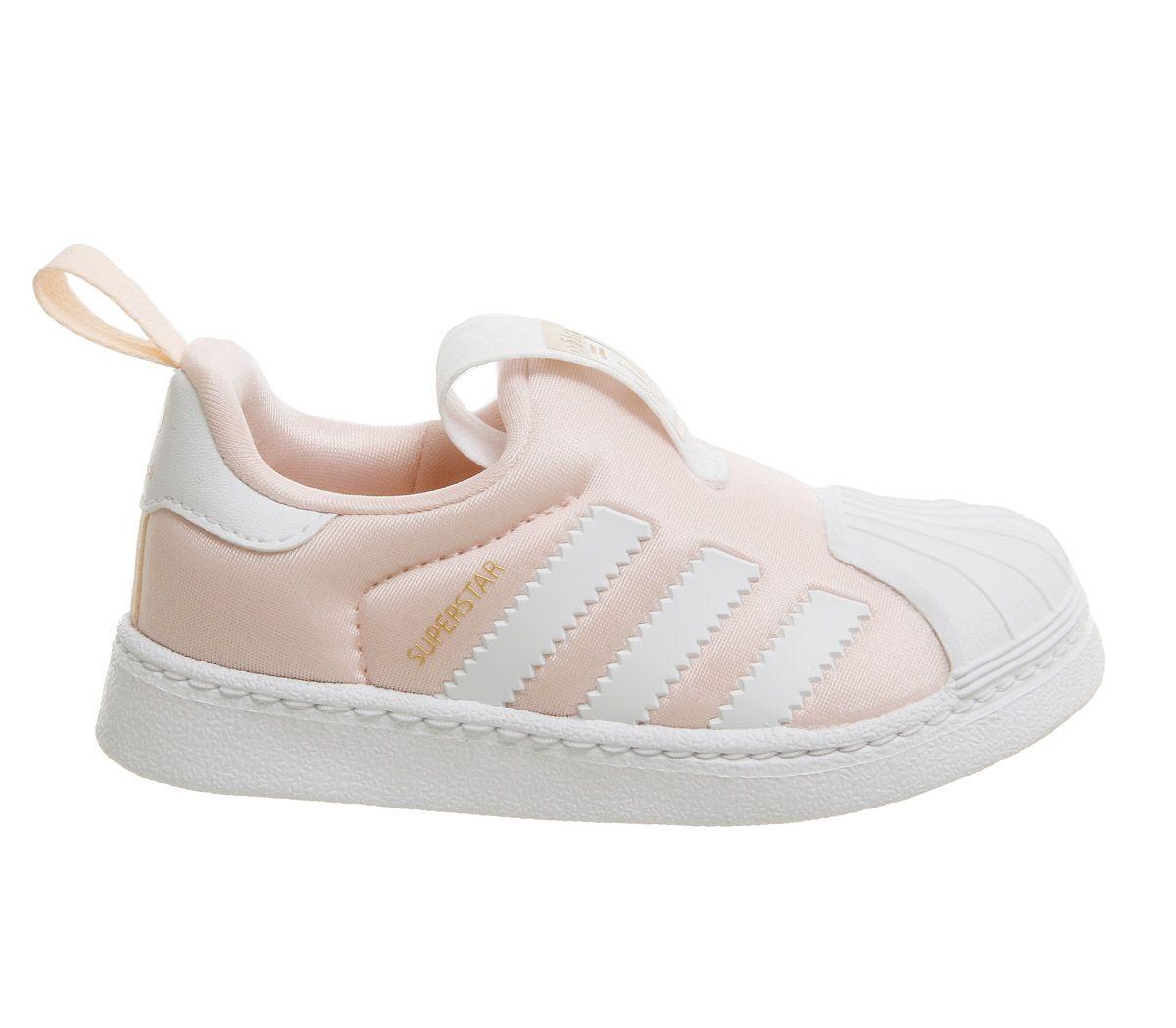 83fd717a0ba14 SENTINELLE Enfants Adidas Superstar 360 Inf 3-9 formateurs Orange clair Kids