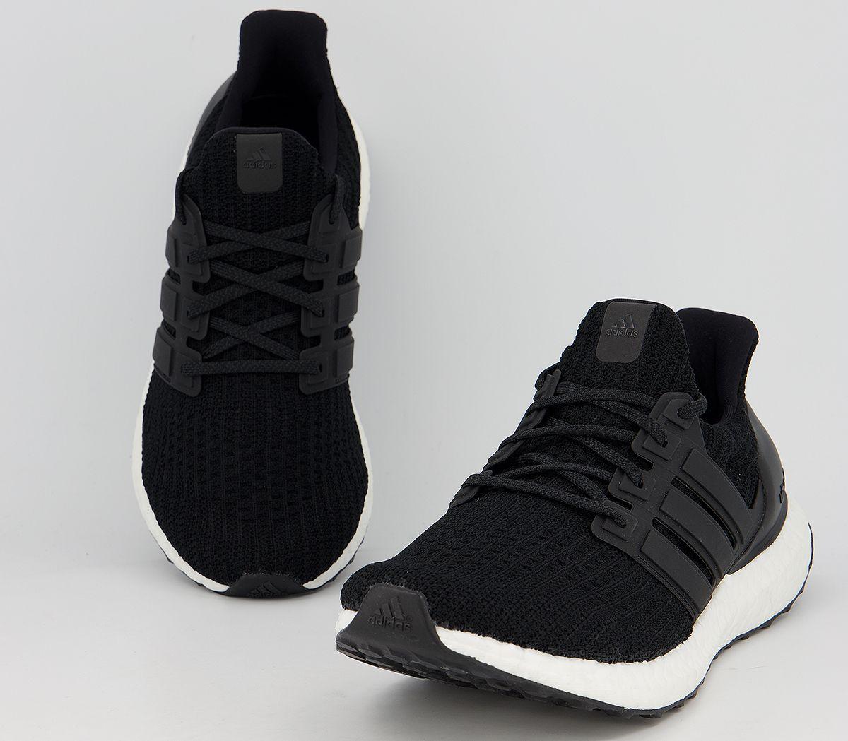 the latest caefa 1c3b0 SENTINEL Scarpe uomo Adidas Ultra Boost istruttori formatori bianco nero