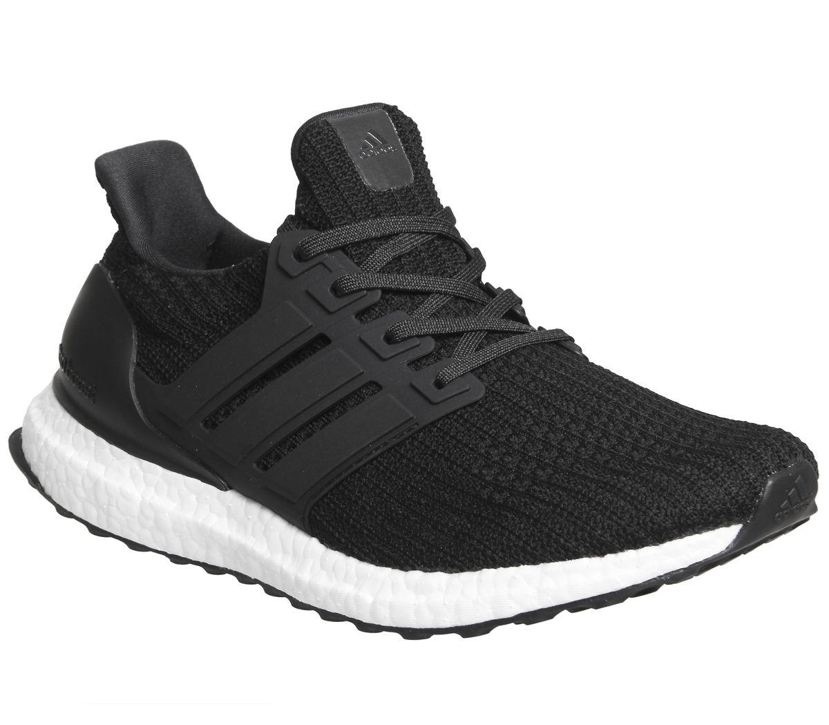the latest 08751 20595 SENTINEL Scarpe uomo Adidas Ultra Boost istruttori formatori bianco nero