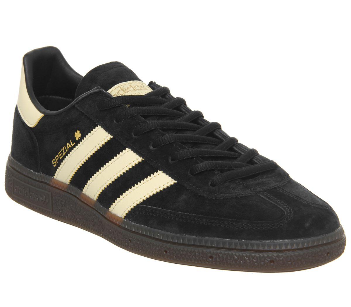 5289d23135e84 SENTINELLE Adidas Handball Spezial Trainers Core Chaussures de formateurs  en gomme jaune facile noire