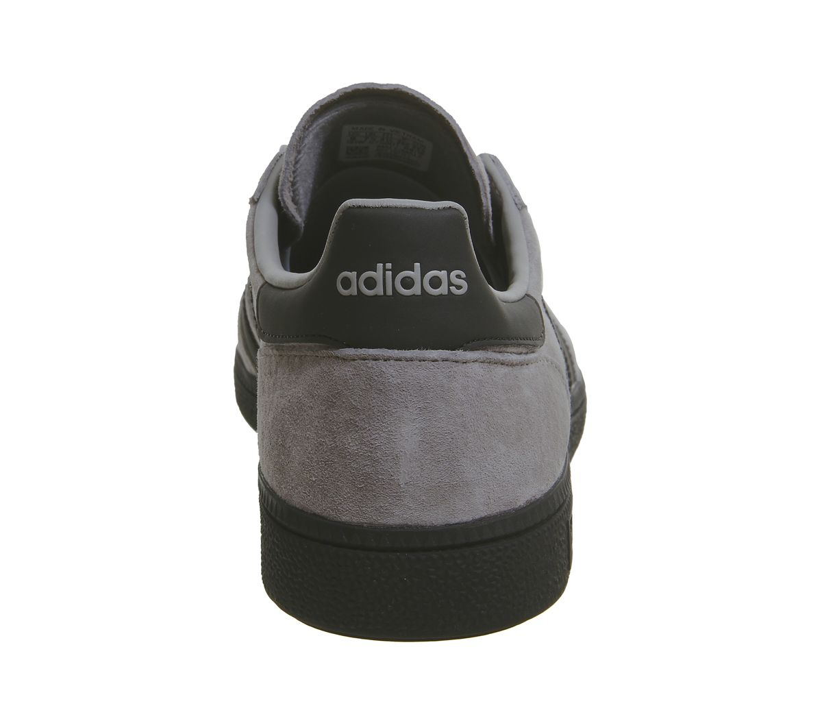 Adidas-Handball-Spezial-Trainers-Solid-Grey-Core-Black-Silver-Exclusive-Trainers thumbnail 14