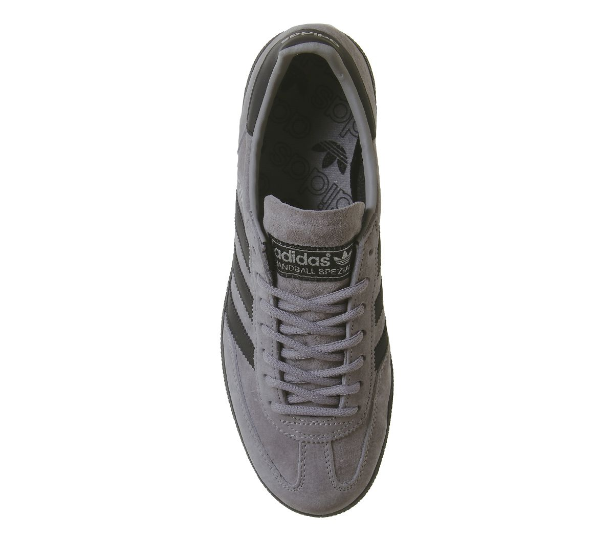 Adidas-Handball-Spezial-Trainers-Solid-Grey-Core-Black-Silver-Exclusive-Trainers thumbnail 16