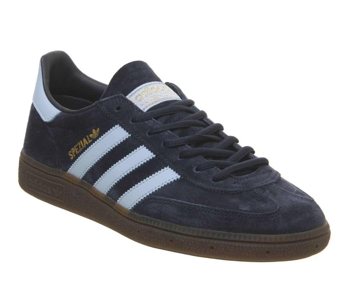 quality design a188c a9893 Sentinel Adidas Handball Spezial Trainers Collegiate Navy Clear Sky Gum  Trainers Shoes