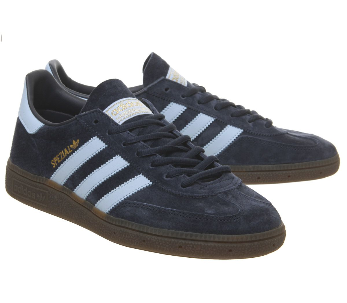 f79bf921c30f Sentinel Adidas Handball Spezial Trainers Collegiate Navy Clear Sky Gum  Trainers Shoes