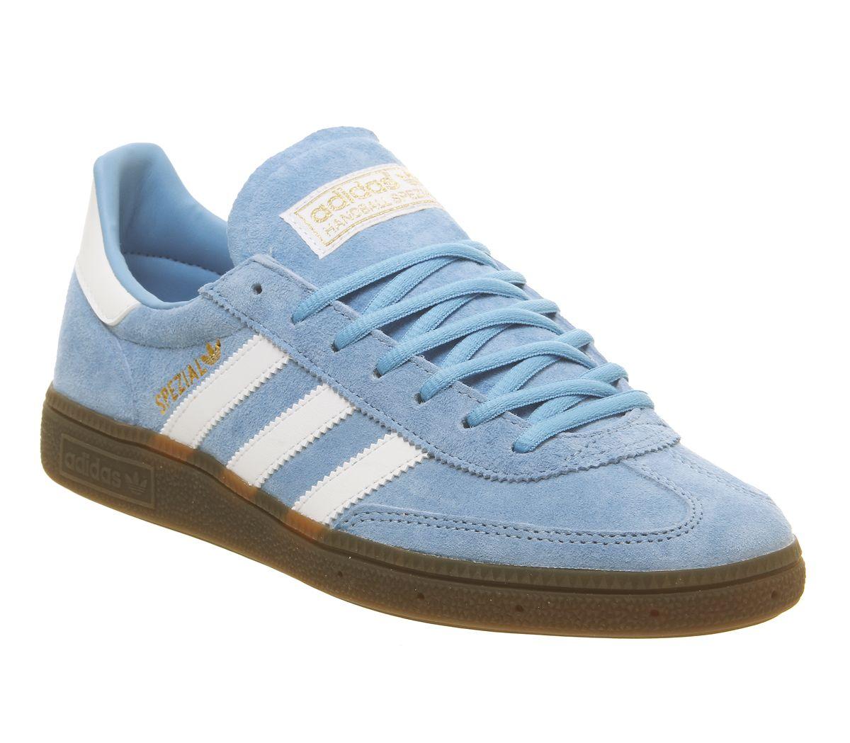 timeless design 6b230 a9ca2 SENTINEL Adidas Handball Spezial formatori luce blu gomma bianca formatori  scarpe