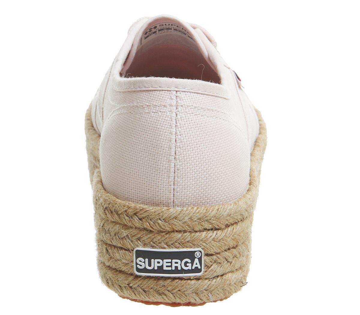 94c6610945 Donna-Superga-2790-Scarpe-Rosa-pelle-Espadrillas-Scarpe miniatura