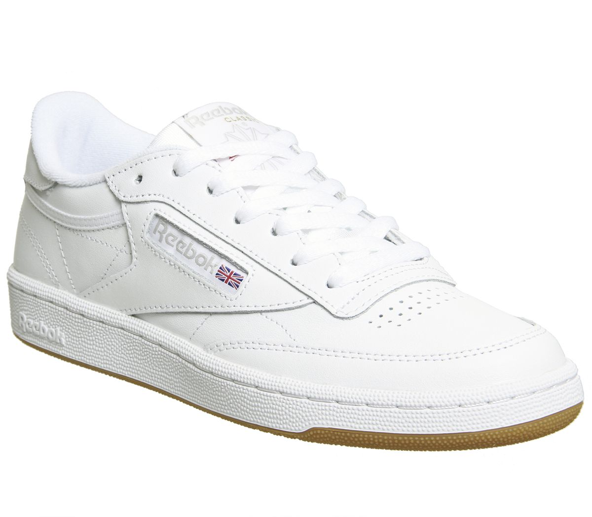 blanche sole classic leather gum reebok trainers oeQdxWrCBE