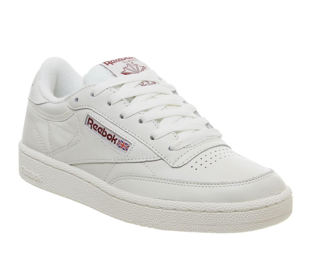 Club Details 85 Reebok Zu Shoes Vintage Trainers Chalk Red Meteor C OwPnXNk80