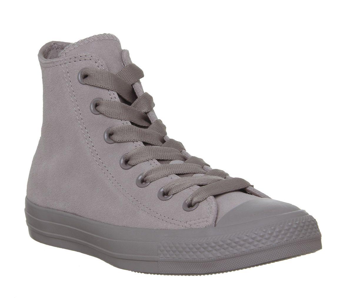 9683fc9e6868e SENTINELLE Womens Converse Converse All Star Hi chaussures gris formateurs  de formateurs mercure