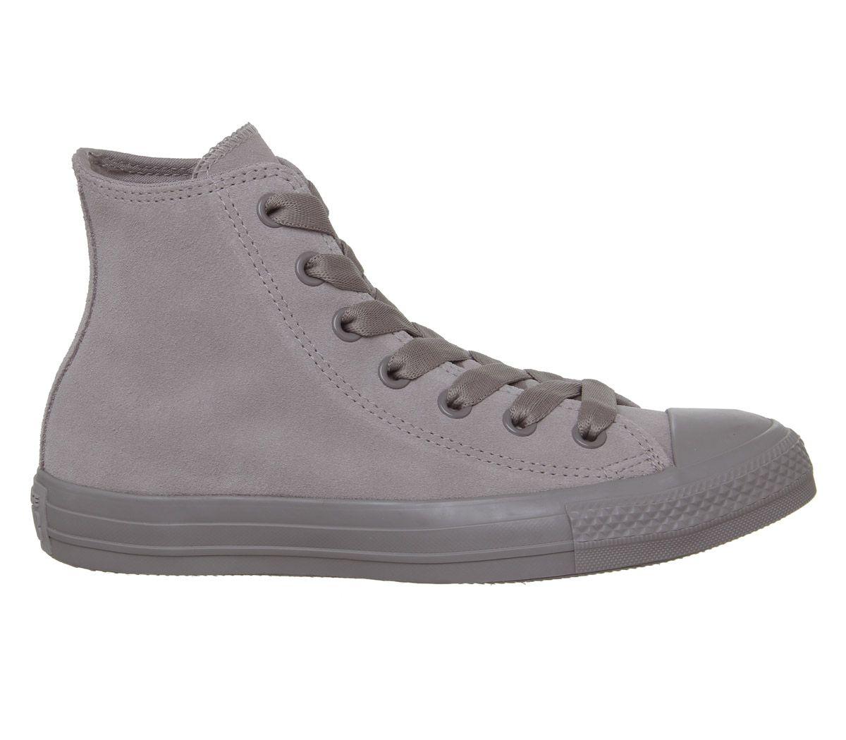 meet 9c7f5 e7d60 SENTINELLE Womens Converse Converse All Star Hi chaussures gris formateurs  de formateurs mercure