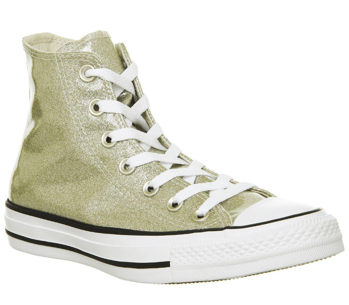 71c6ae39657d SENTINEL Womens Converse Converse All Star Hi allenatori luce oro bianco  scarpe da ginnastica scarpe