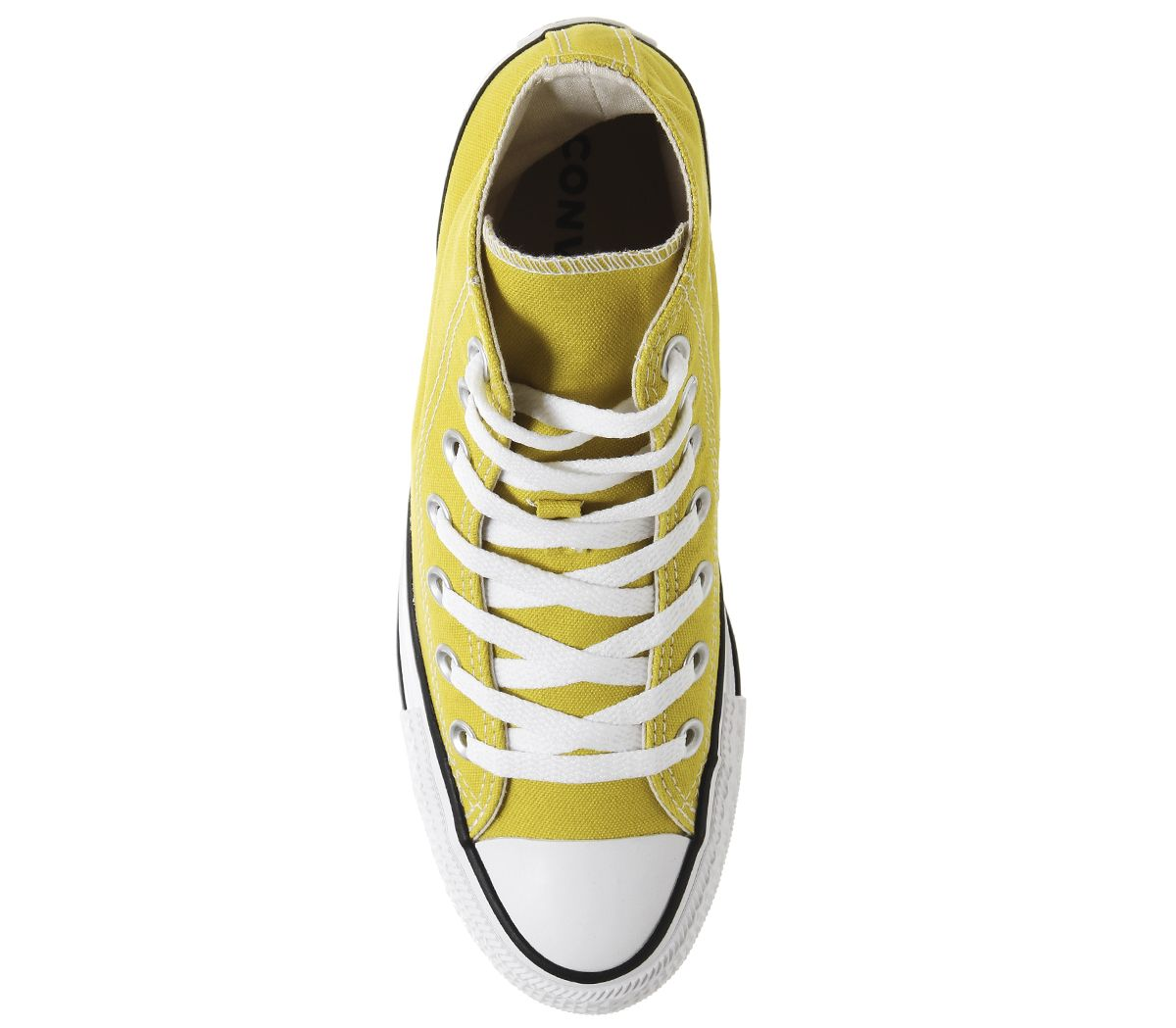 Homme-Converse-Converse-All-Star-HI-Baskets-BOLD-Citron-Baskets-Chaussures miniature 7